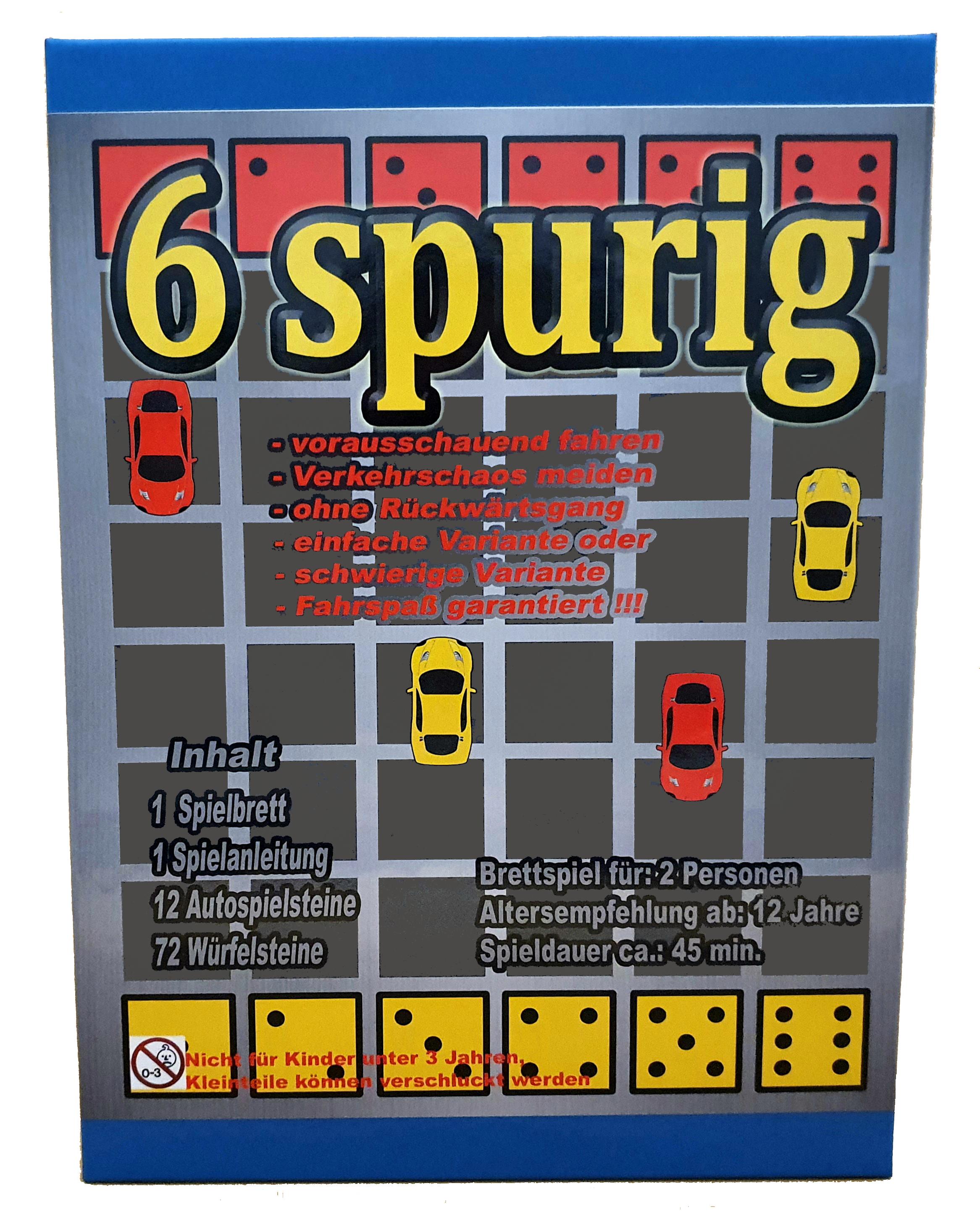 6 spurig